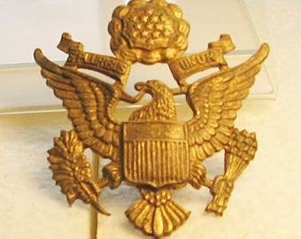 WWII Officers Hat Insignia