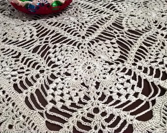Cotton crochet doily, articles for home and lifestyle