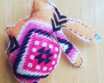 Southwest Rabbit Catnip Toy