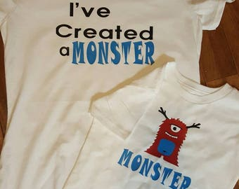 I've created a monster t-shirts.