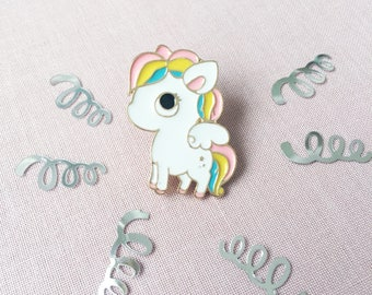 Pegasus Unicorn Enamel Pin