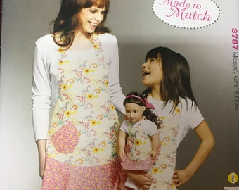 Kwik Sew Misses' and Girls' Aprons Pattern