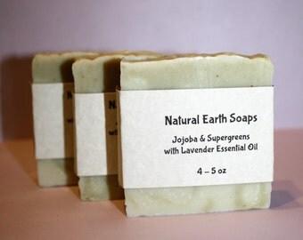 FREE SHIPPING Jojoba & Supergreens, Lavender Essential Oil
