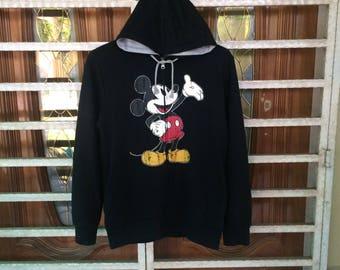 Vintage Mickey Mouse Disney Hoodie Sweatshirt