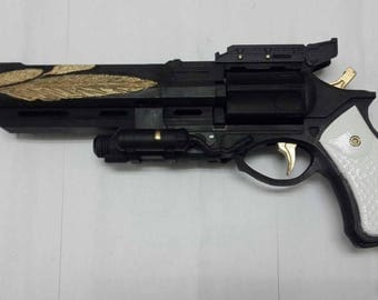 3D Printed Hawkmoon moonglow skin Hand Cannon from Destiny
