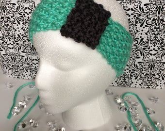 "Girl's Knitted Headband ""The Aubrey"""