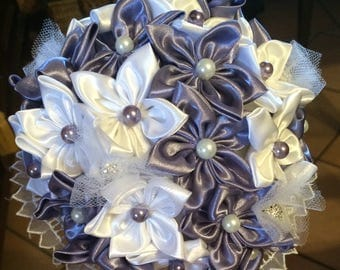 Bouquets wedding flowers Daisy fabric custom color beads