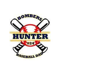 Custom - Baseball Decal