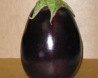 300 FLORIDA MARKET EGGPLANT Purple Aubergine Solanum Melongena Vegetable Seeds