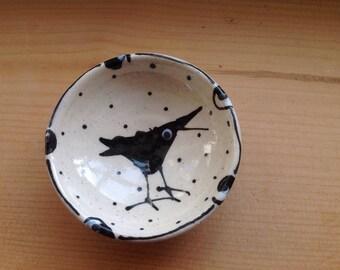 Raven/Crow Mini Bowl