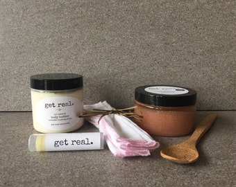 Body Scrub & Butter Gift Box