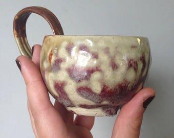 Multi-Glaze Tea Cup