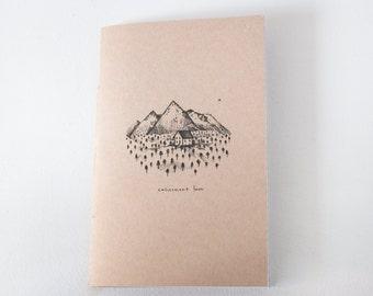 Notebook - Calicement away / journal, notebook, notebook, notebook, stationery