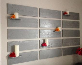 Headboard Wall rustic headboard | etsy