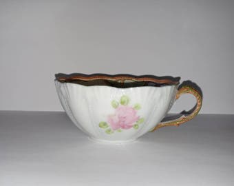 Gorgeous Nippon Hand Painted Tea Cup