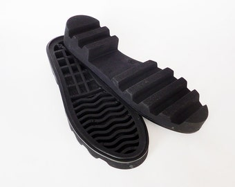 Rubber soles for shoes BLACK Outsole felted boots. Sole winter boots Rubber soles felted shoes Outsole for leather shoes Sole for felt boots