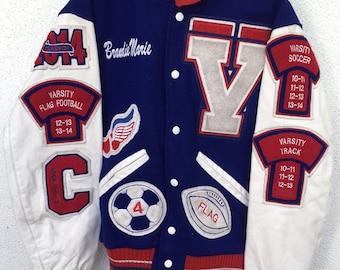 Vintage Lettermen's Jacket