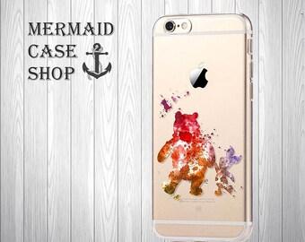 Winnie pooh iPhone 7 case iPhone 7 winnie pooh disney case iPhone 6 disney Case iPhone 6s disney Case/NC-11/127