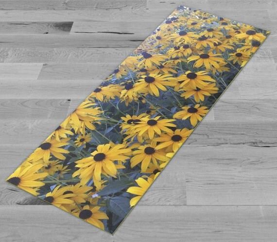Sunflower Yoga Mat by PimpMyYogaMat