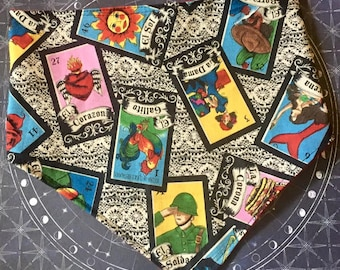 Loteria CUSTOM MADE Limited Edition Dog or Cat Bandana