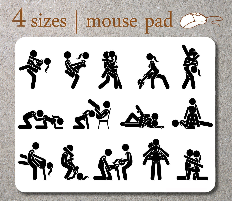 Posiciones sexuales kamasutra mousepad i me estera del rat n for Figure del kamasutra