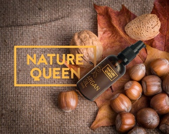 100% Pure Natural Organic ARGAN OIL Cold Pressed Unrefined from Morocco