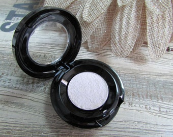 Halographic Violet Eyeshadow/highlighter, Mineral Color Shifting Purple Pigment, Vegan cruelty free, natural, pressed 26mm, jar 10 g, sample
