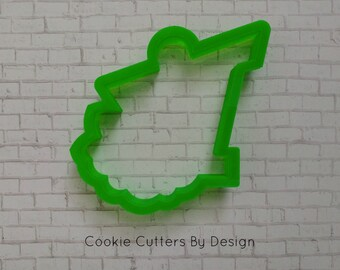 Bird House Cookie Cutter with Flowers