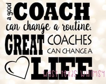 Gymnastics coach svg, cheer coach svg, dance coach svg, gymnastics teacher svg, dance teacher svg, gymnastics quote, cheer quote