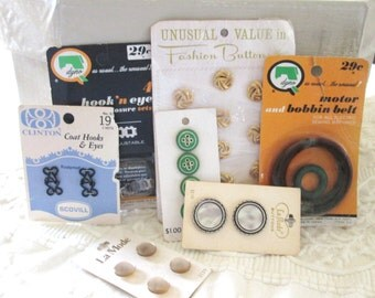 Vintage Sewing Supplies, Instant Collection