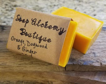 Orange, Dogwood & Ginger Soap