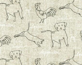 Ellen DeGeneres Fabric, Animals- Curtains, Throw Pillows