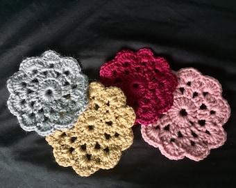 Crochet Vintage Doily Coasters