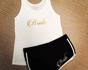 Personalised Bride PJs - Bride Pyjamas - loungewear - bridesmaids - hen party - bridal Party