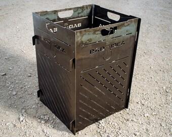 Medium Blaze Steel Burn Cage Incinerator