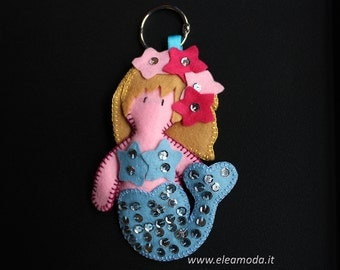 Little Mermaid Keychain
