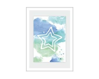 "Print/print ""Star"""