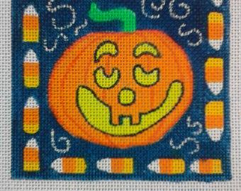 needlepoint halloween canvas
