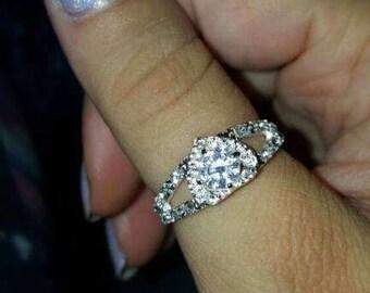 Sterling silver ring sz 7
