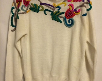 80's Vintage Womens Sweater