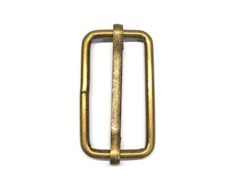 "1.25"" Moving Bar Buckle - Package of 100"