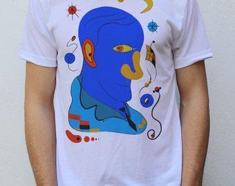 Joan Miró Portrait T shirt