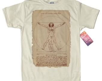 Neo Vitruvian Man T shirt