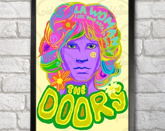 The Doors Poster Print A3+ 13 x 19 in - 33 x 48 cm Jim Morrison Buy 2 get 1 FREE
