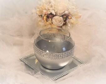 Silver Vases Glamorous Silver Vase  Etsy Decorating Design