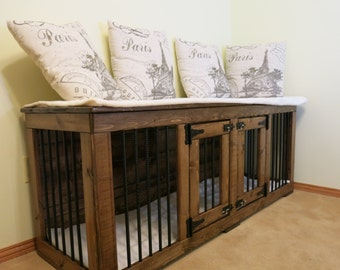 Paris - Custom Handmade Kennel / Crate for Dogs