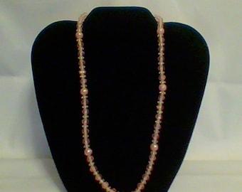 Peach Color Necklace
