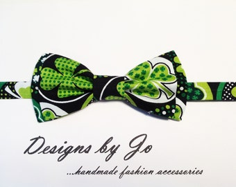 Mens Bow Tie,Green Bow Tie, Formal Bow Tie, Mens Bowtie,Prom Bow Tie,Wedding Bow Tie, St Patricks Day Bow Tie, Mens Fashion Accessories M666
