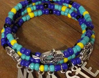 Namaste springy bracelet