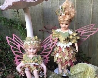 Beautiful Porcelain Autumn Fairies